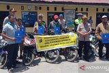 Polres Jayawijaya kembalikan 57 motor hasil curian