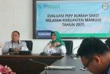 BPJS Kesehatan dan Ombudsman Sulbar kerjasama penguatan peran PPIP di RS