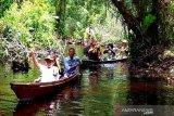 Susur sungai gunakan perahu berpotensi jadi wisata favorit di Barito Timur