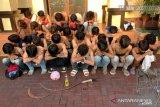 Tujuh dari 26 pemuda diduga pelaku tawuran positif narkoba