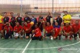 Tim futsal Ikatan Alumni Jatim menang 4-3 atas tim Pinkers Media Jayapura