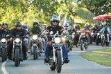 Konvoi Bersama Komunitas Motor, Gubernur Ajak Disiplin Berkendara
