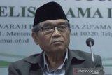 MUI: Muslim meninggal karena COVID-19 mati syahid akhirat tapi hak jenazah wajib dipenuhi