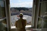Paus Fransiskus serukan doa untuk hentikan wabah virus corona