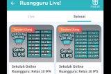 XL Dan Indosat memberi akses gratis Ruangguru
