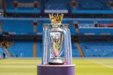 Liga Inggris terancam didenda Rp15,3 triliun bila kompetisi tidak lanjut