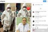 Dokter senior Handoko ikut berjuang lawan COVID-19