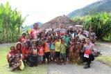 Binmas Noken Polri gelar Polisi Pi Ajar di Kampung Yalinggua