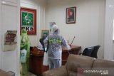 Kantor DPP PKB disemprot disinfektan untuk cegah COVID-19
