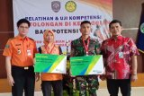 Lindungi peserta pelatihan, Basarnas Semarang berikan jaminan BPJAMSOSTEK