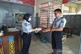 Lapas Muara Teweh berikan 'hand sanitizer' kepada pengunjung napi