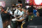 Polres Karimun musnahkan 1,2 kilogram sabu-sabu