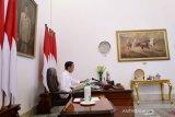 Presiden Jokowi dan Ibu Negara negatif COVID-19