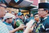 Saat pandemi corona, Bupati Inhil tetap ajak warganya salat Jumat di masjid