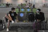 Bandara mulai terapkan konsep 'social distancing'