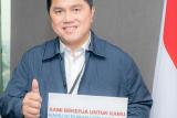 Erick Thohir meminta pimpinan BUMN perhatikan kesehatan karyawannya