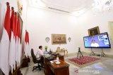 Presiden Joko Widodo minta alat uji cepat COVID-19 segera didatangkan