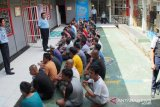 Rutan Muaralabuh wajibkan pengunjung cuci tangan