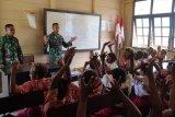 Wawasan Kebangsaan Siswa SD Kibay di perbatasan RI-PNG
