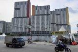 TNI bangun barak di dekat Wisma Atlet Kemayoran