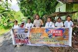 Polsek Depapre sosialisasi antihoaks di Kampung Doromena