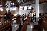 Pemkab Minahasa sterilkan fasilitas umum