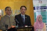 Kasus positif COVID-19 di Malaysia menembus angka 1.030