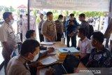 Antisipasi COVID-19, Polres Pasaman Barat wajibkan calon anggota Polri cuci tangan (Video)