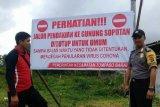 Objek wisata ke Gunung Soputan ditutup sementara