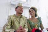 Akhirnya Bunga Jelitha dan Syamsir Alam resmi menikah