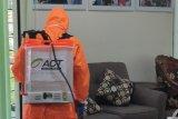 ACT lakukan penyemprotan disinfektan di LKBN Antara Biro Lampung