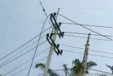 SUTM putus, listrik di Siak padam berjam-jam