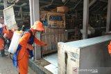 Lima pasar di Bantul disemprot disinfektan cegah COVID-19