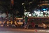 Dorrr..  polisi beri tembakan peringatan, puluhan orang kocar kacir di Imam Bonjol Padang