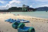 Objek wisata Laut Mutun dan Sari Ringgung Lampung ditutup