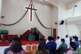 HKBP Distrik XXII Riau  pindahkan ibadah  Minggu ke rumah  antisipasi COVID-19