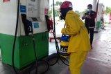 PT Pertamina-ACT semprot disinfektan sejumlah SPBU di Yogyakarta