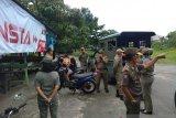 Satpol PP Tarakan razia pelajar di tempat nongkrong