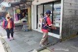 Tiga kecamatan di Kapuas disemprot desinfektan