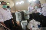 Polisi bongkar penyimpanan 2 ton sianida ilegal di Kabupaten Murung Raya
