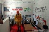Antisipasi Corona, Askrindo semprot disinfektan Kantor ANTARA Sultra