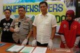 Ternyata! Seorang wanita pengunggah hoaks corona menyebar di Lombok Tengah