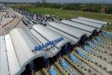 Evakuasi penumpang bus meninggal dengan prosedur COVID-19
