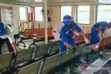 Arus penumpang ASDP Baubau menurun drastis sebagai dampak COVID-19