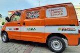 ACT Sulsel terima bantuan mobil dari Kalla Transport untuk penanganan COVID-19