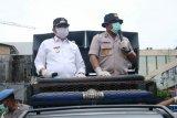 Wakil Wali Kota dan Kapolresta Jayapura berikan imbauan cegah corona