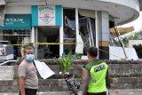 Dua orang luka bakar akibat ledakan di Plaza Ramayana Medan