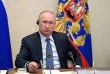 Putin sebut AL Rusia akan diperkuat rudal nuklir hipersonik dan drone