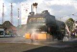 Polres Banjarnegara lakukan penyemprotan disinfektan di jalan protokol