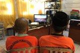 Sidang perkara pidana secara video daring di Lapas Tembilahan